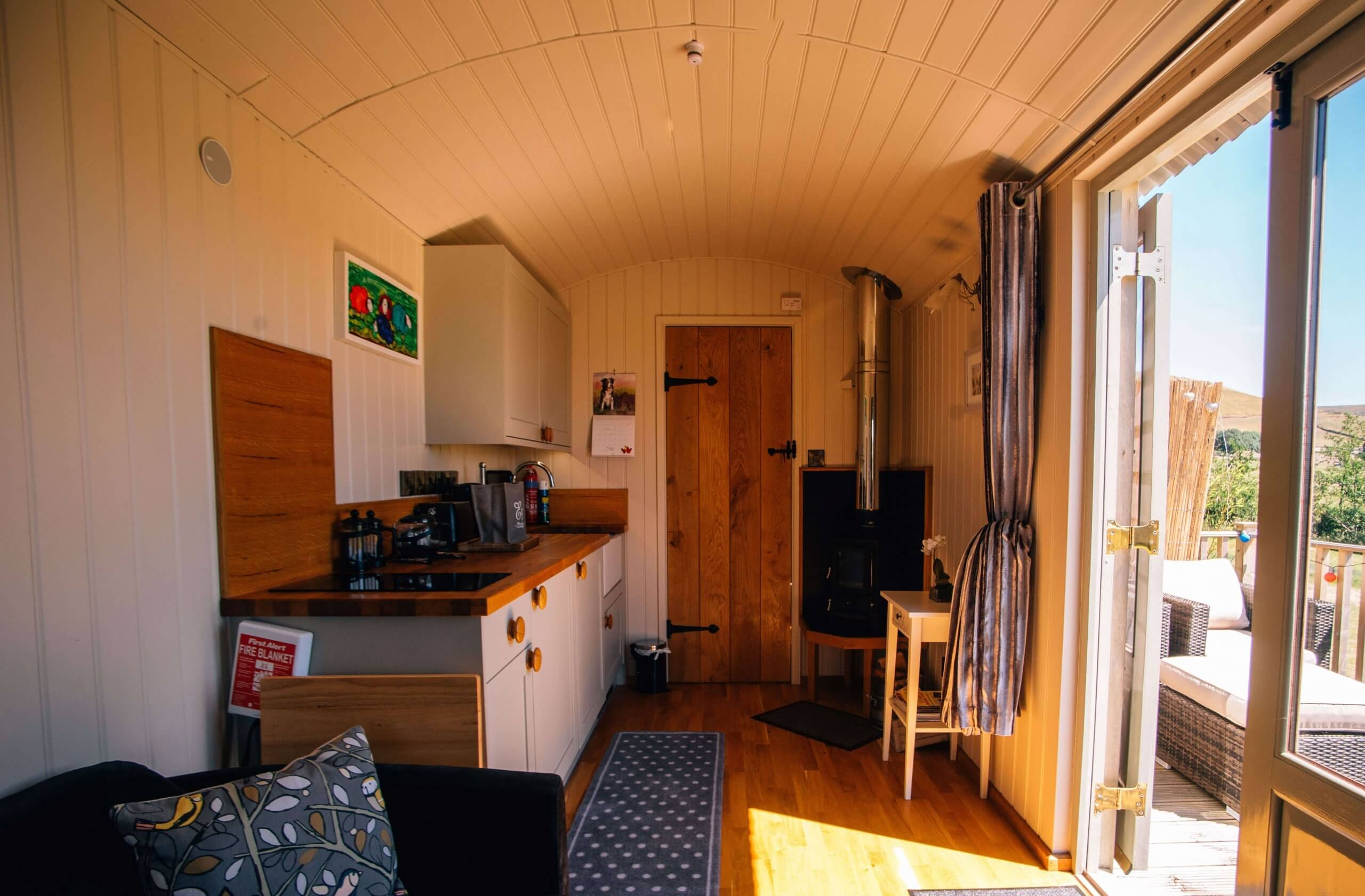 Eric's Hut Interior 2