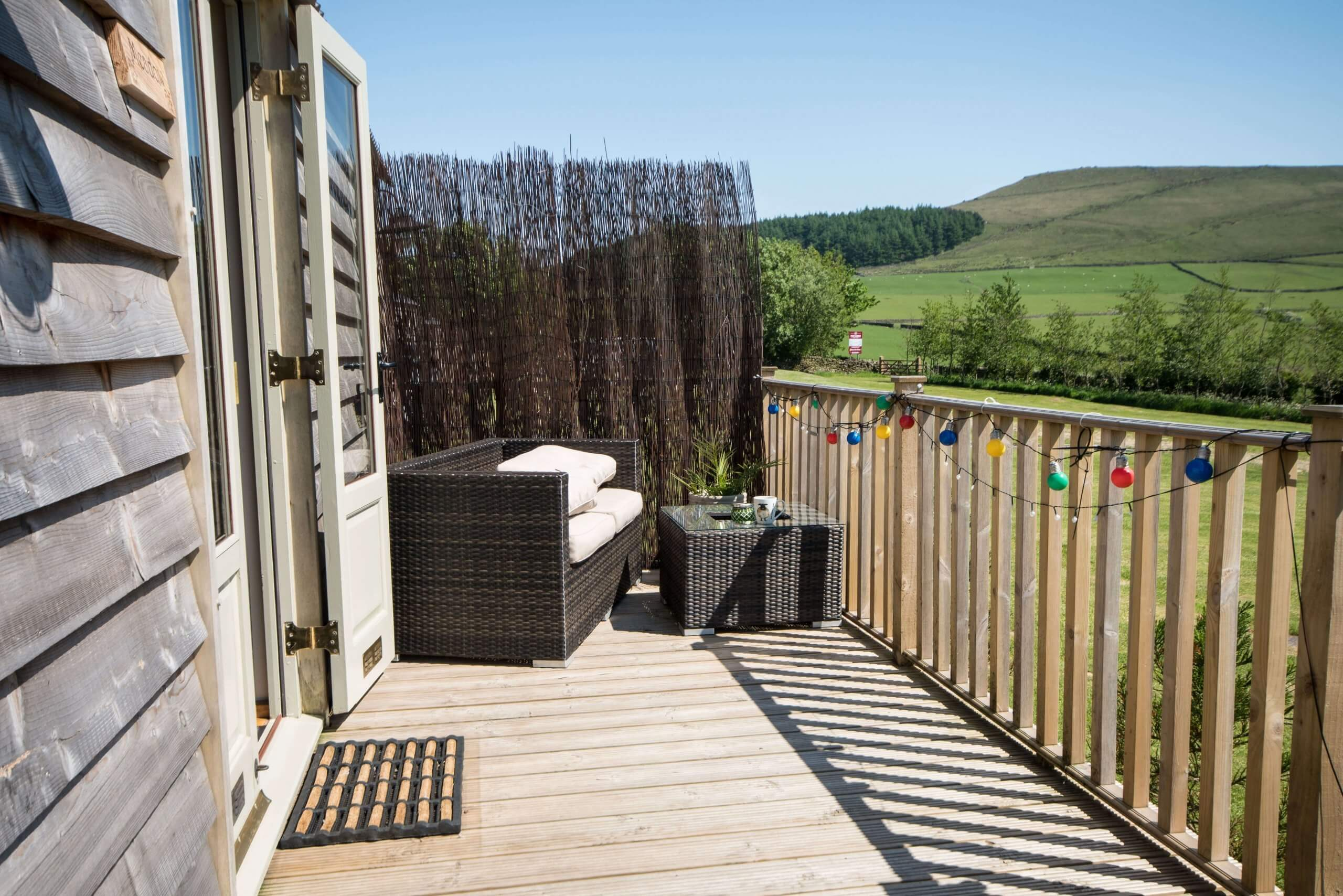 Meadow Hut Decking 2