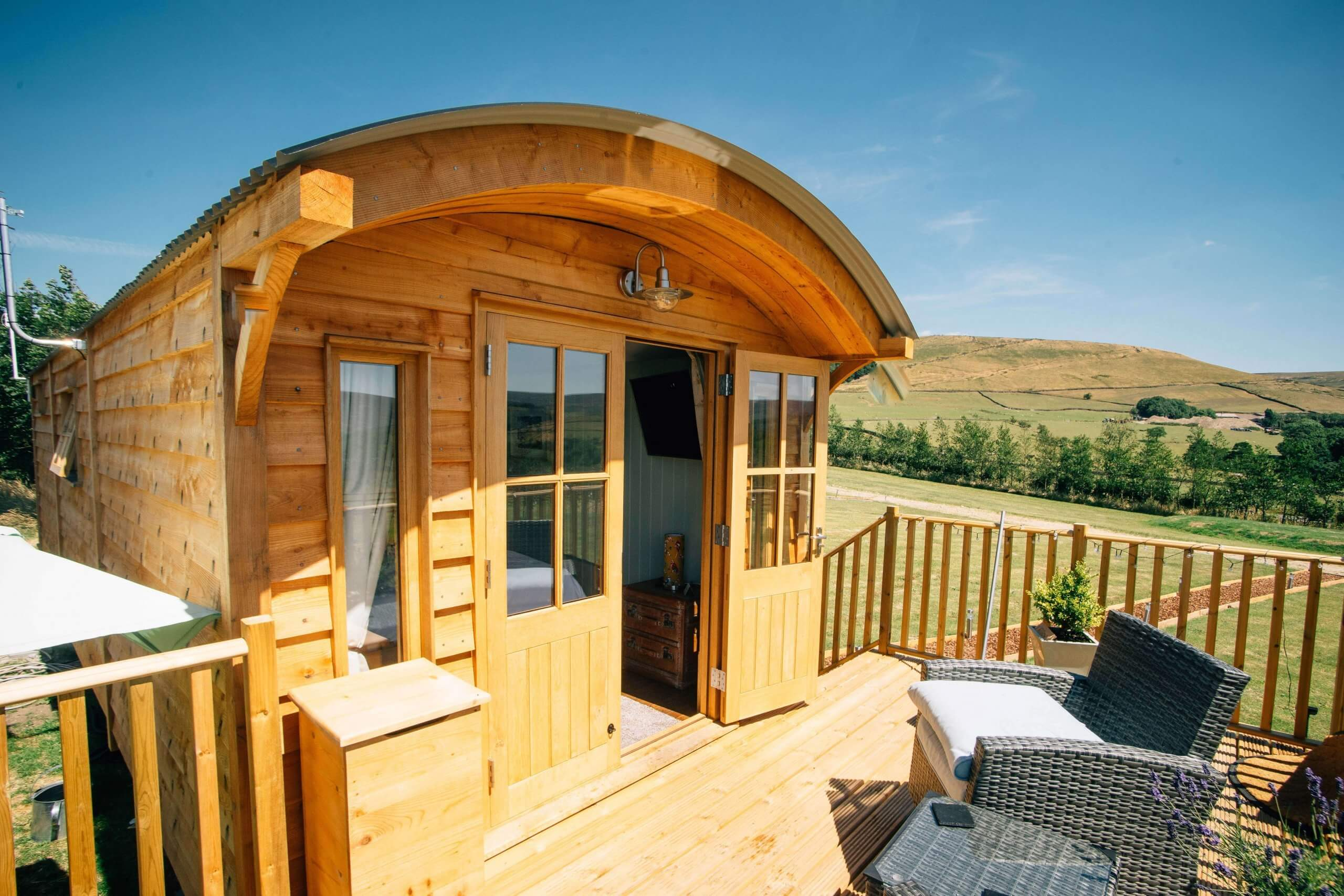 Willow Hut Decking